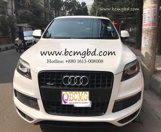 Audi rent in Dhaka, Bangladesh